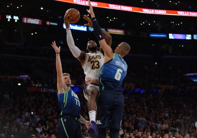 Los Angeles Lakers vs. Dallas Mavericks - 12/29/19 NBA Pick, Odds & Prediction