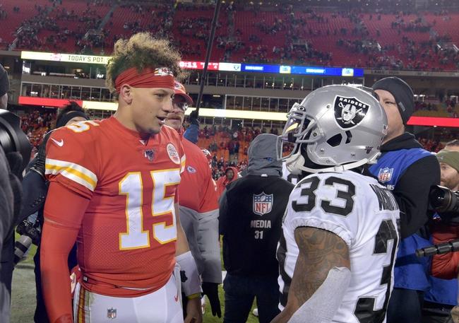 Week 5: Kansas City Chiefs vs Las Vegas Raiders NFL Picks,Predictions 10/11/20