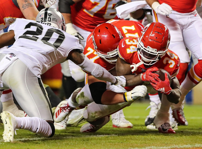 Kansas City Chiefs vs. Oakland Raiders - 5/28/20 Madden20 NFL Sim Pick, Odds, and Prediction