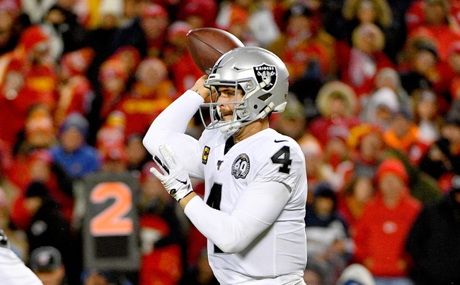 Oakland Raiders vs. Tennessee Titans - 12/8/19 NFL Pick, Odds, and Prediction