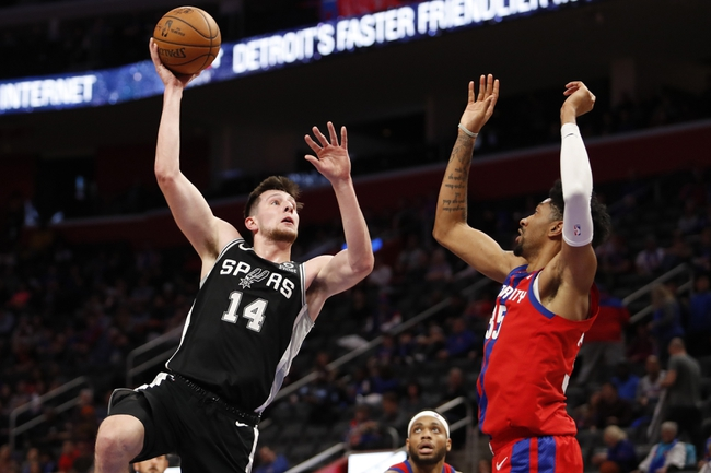 San Antonio Spurs vs. Detroit Pistons - 12/28/19 NBA Pick, Odds & Prediction