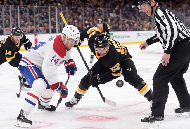 Boston Bruins vs. Montreal Canadiens - 2/12/20 NHL Pick, Odds, and Prediction