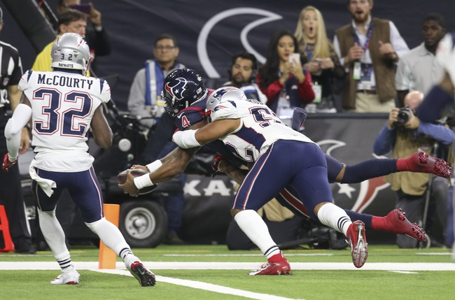 New England Patriots at Houston Texans 11/22/20 NFL Picks and Predictions