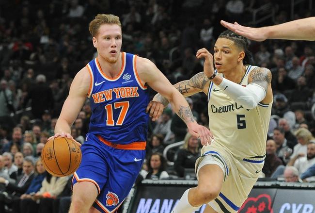 New York Knicks vs. Milwaukee Bucks - 12/21/19 NBA Pick, Odds, and Prediction
