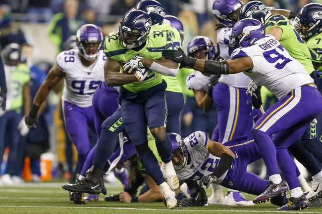 Seattle Seahawks vs. Minnesota Vikings - 4/27/20 Madden20 NFL Sim Pick, Odds, and Prediction