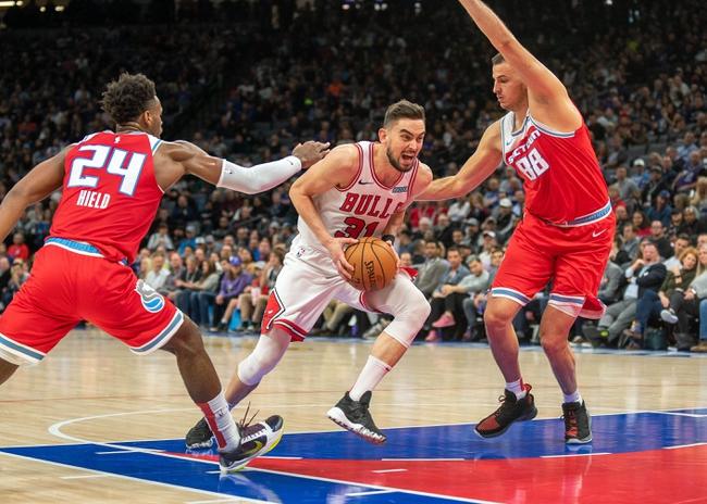Chicago Bulls vs. Sacramento Kings - 1/24/20 NBA Pick, Odds, and Prediction