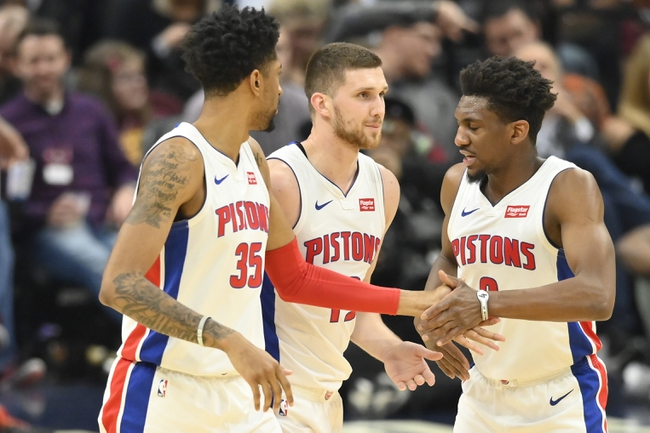 Houston Rockets vs. Detroit Pistons - 12/14/19 NBA Pick, Odds, and Prediction