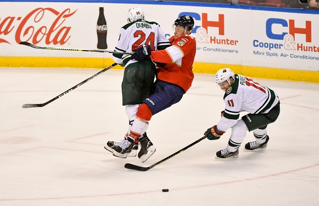 Minnesota Wild vs. Florida Panthers - 1/20/20 NHL Pick, Odds, and Prediction