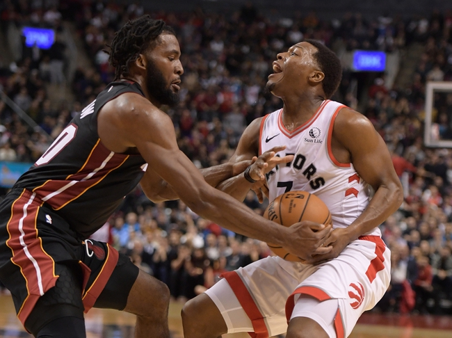 Miami Heat vs. Toronto Raptors - 1/2/20 NBA Pick, Odds, and Prediction
