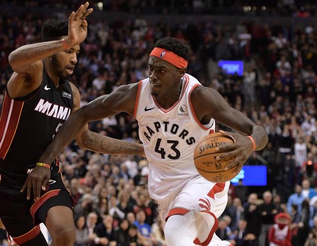 Miami Heat vs. Toronto Raptors - 1/2/20 NBA Pick, Odds & Prediction