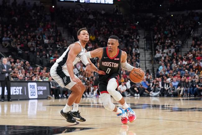 Houston Rockets vs. San Antonio Spurs - 12/16/19 NBA Pick, Odds, and Prediction