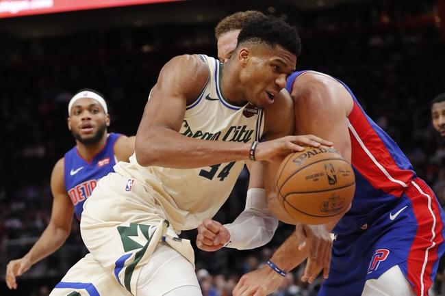 Detroit Pistons vs. Milwaukee Bucks - 2/20/20 NBA Pick, Odds, and Prediction