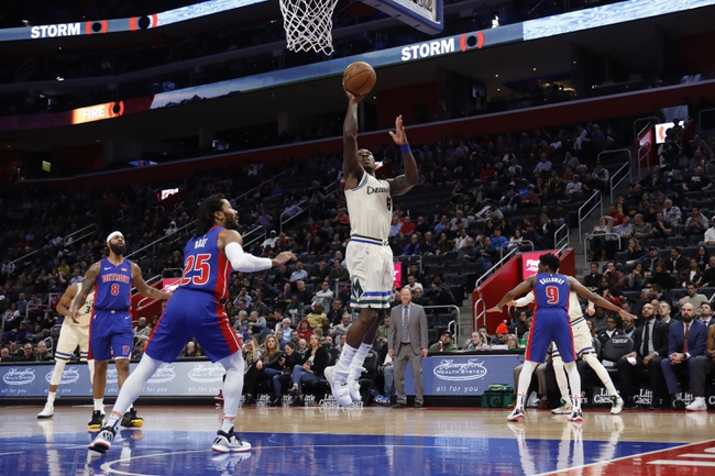 Detroit Pistons vs. Milwaukee Bucks - 2/20/20 Nba Pick, Odds & Prediction
