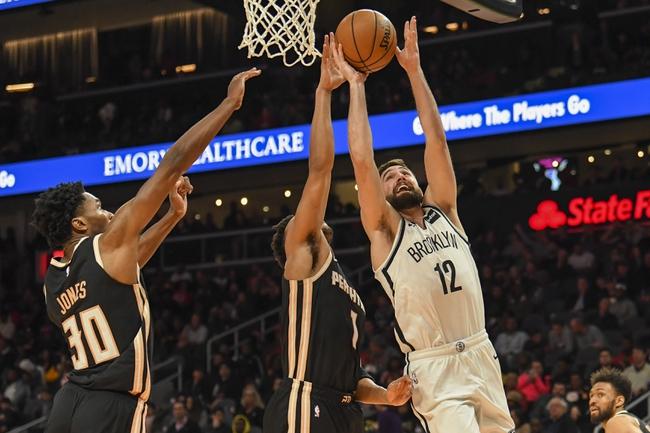 Brooklyn Nets vs. Atlanta Hawks - 12/21/19 NBA Pick, Odds, and Prediction