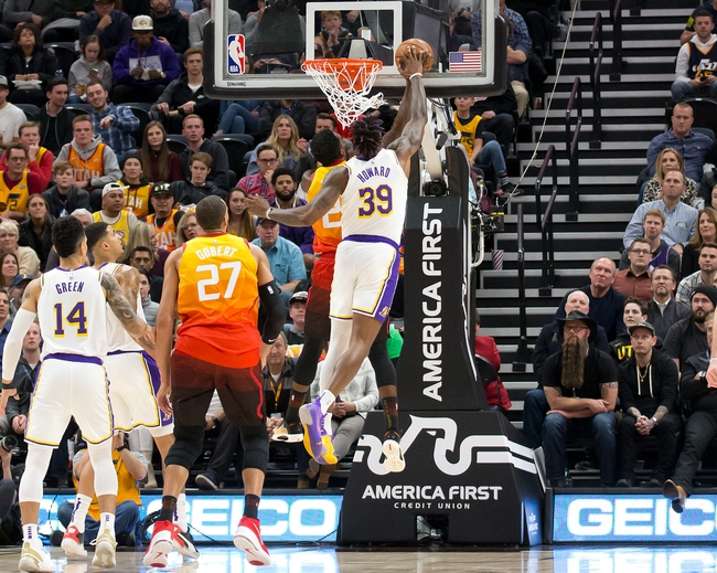 Los Angeles Lakers at Utah Jazz - 8/3/20 NBA Picks and Prediction