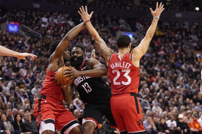 Toronto Raptors vs. Houston Rockets - 7/24/20 NBA Pick, Odds, and Prediction