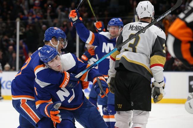 Vegas Golden Knights vs. New York Islanders - 2/15/20 NHL Pick, Odds, and Prediction