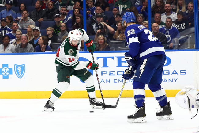 Minnesota Wild vs. Tampa Bay Lightning - 1/16/20 NHL Pick, Odds & Prediction
