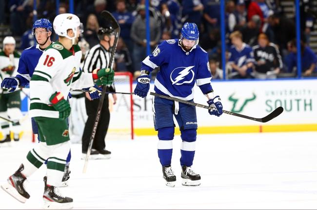 Minnesota Wild vs. Tampa Bay Lightning - 1/16/20 NHL Pick, Odds, and Prediction
