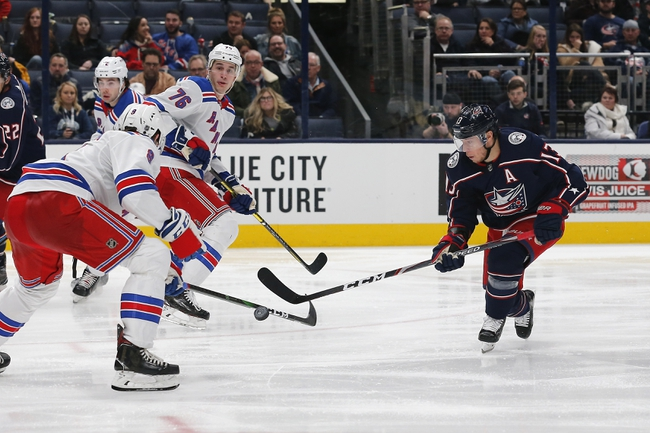 New York Rangers vs. Columbus Blue Jackets - 1/19/20 NHL Pick, Odds & Prediction