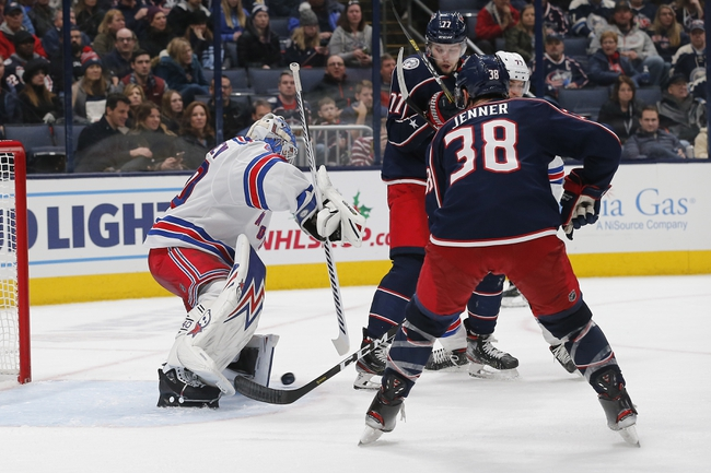 New York Rangers vs. Columbus Blue Jackets - 1/19/20 NHL Pick, Odds, and Prediction