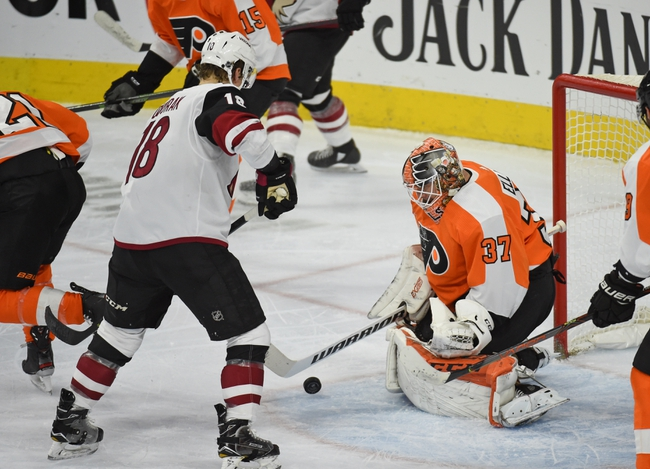 Arizona Coyotes vs. Philadelphia Flyers - 1/4/20 NHL Pick, Odds, and Prediction