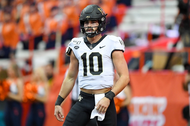 ACC: Wake Forest vs Virginia Tech College Football Picks, Odds, Predictions 10/24/20