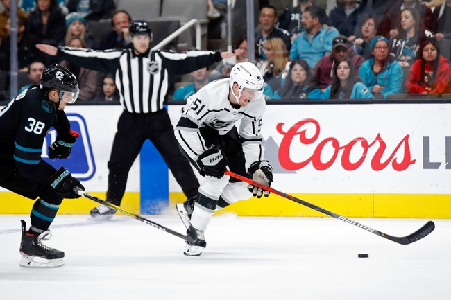 San Jose Sharks vs. Los Angeles Kings - 12/27/19 NHL Pick, Odds, and Prediction