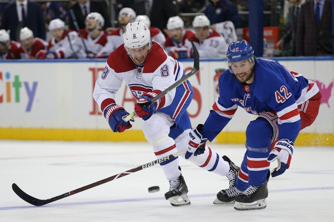 Montreal Canadiens vs. New York Rangers - 2/27/20 NHL Pick, Odds, and Prediction