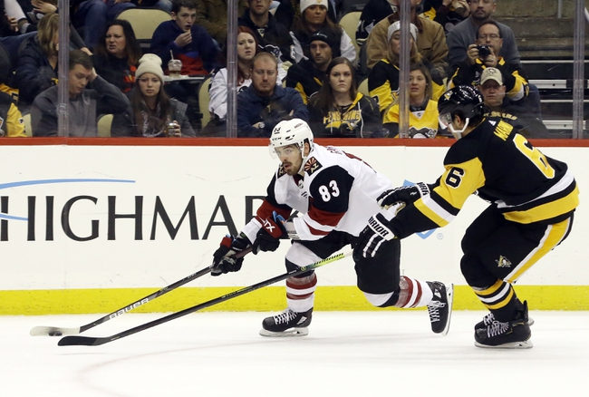 Arizona Coyotes vs. Pittsburgh Penguins - 1/12/20 NHL Pick, Odds, and Prediction