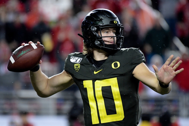 Wisconsin Badgers vs.  Oregon Ducks  - 1/1/20 College Football Pick, Odds, and Prediction