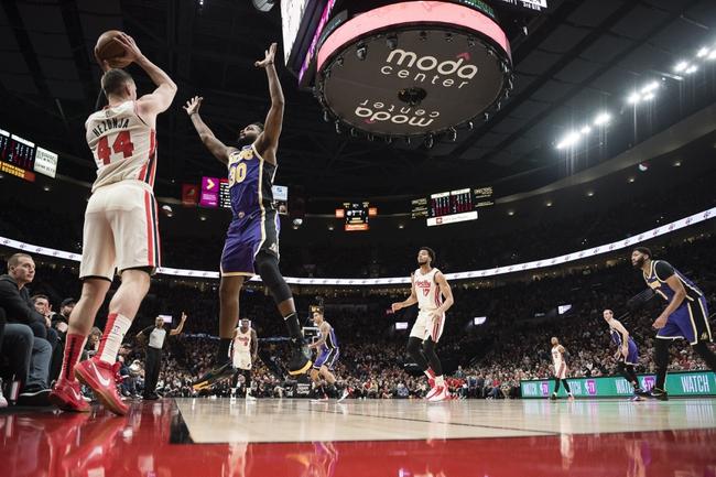 Portland Trail Blazers vs. Los Angeles Lakers - 12/28/19 NBA Pick, Odds & Prediction