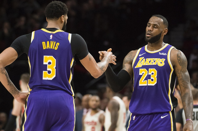 Portland Trail Blazers vs. Los Angeles Lakers - 12/28/19 NBA Pick, Odds, and Prediction