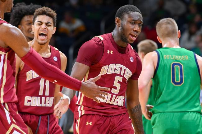 Boston College vs. Notre Dame - 2/26/20 College Basketball Pick, Odds, and Prediction