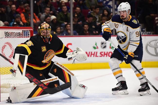 Buffalo Sabres vs. Vancouver Canucks - 1/11/20 NHL Pick, Odds, and Prediction