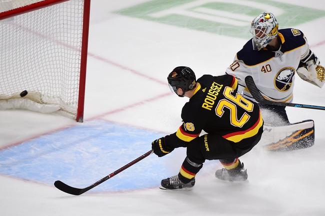 Buffalo Sabres vs. Vancouver Canucks - 1/11/20 NHL Pick, Odds & Prediction