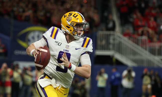 LSU vs. Oklahoma - 12/28/19 College Football Peach Bowl Pick, Odds, and Prediction
