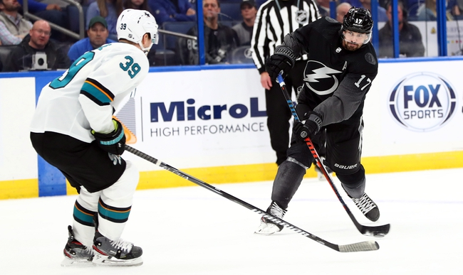 San Jose Sharks vs. Tampa Bay Lightning - 2/1/20 NHL Pick, Odds, and Prediction