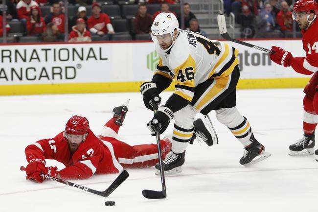 Detroit Red Wings vs. Pittsburgh Penguins - 1/17/20 NHL Pick, Odds & Prediction