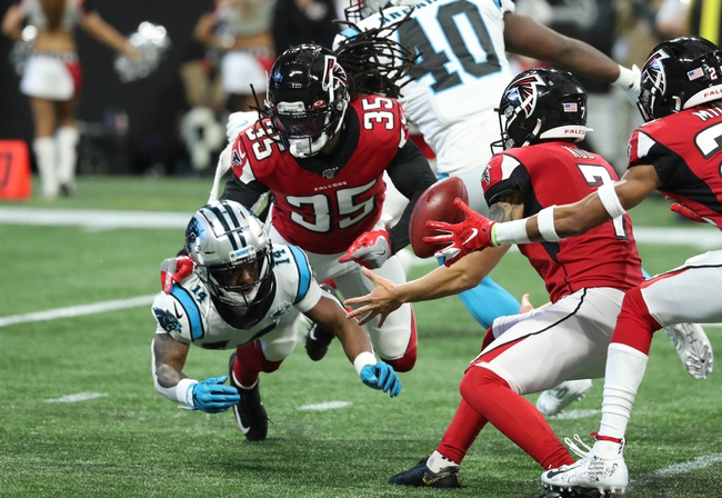 ATS Picks: Atlanta Falcons vs Carolina Panthers NFL Picks, Odds, Predictions 10/11/20