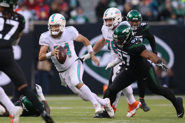 NFL ATS Picks: Miami Dolphins vs New York Jets Predictions 10/18/20