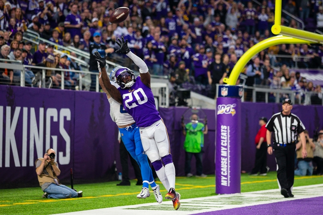 Minnesota Vikings vs. Detroit Lions - 5/14/20 Madden 20 Sim Classic NFL Pick, Odds, and Prediction