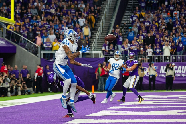 NFC North: Minnesota Vikings vs Detroit Lions 11/8/20 NFL Picks, Odds, Predictions
