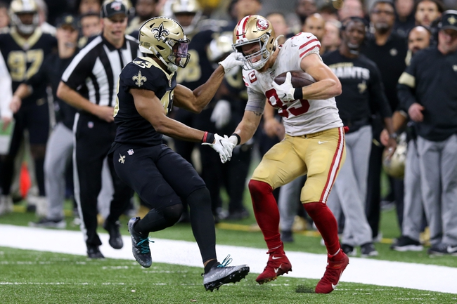 San Francisco 49ers vs. New Orleans Saints - 5/23/20 Madden 20 Sim Classic NFL Pick, Odds, and Prediction