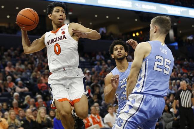 North Carolina vs. Virginia - 2/15/20 College Basketball Pick, Odds, and Prediction