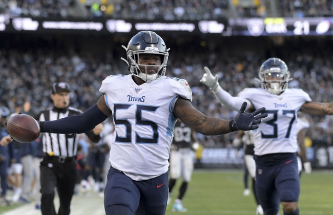 Tennessee Titans  vs. Houston Texans - 12/15/19 NFL Pick, Odds, and Prediction