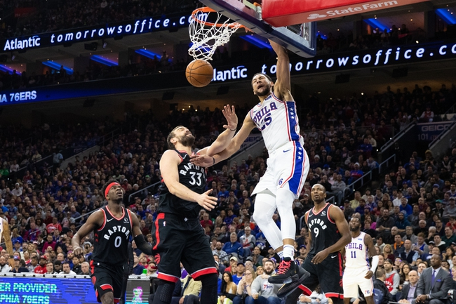 Toronto Raptors vs. Philadelphia 76ers - 1/22/20 NBA Pick, Odds & Prediction