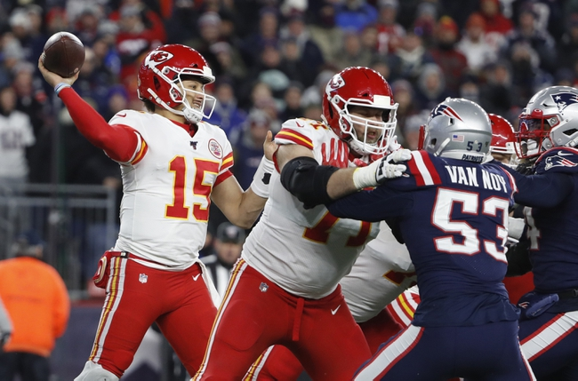 New England Patriots at Kansas City Chiefs NFL Picks, Odds, Predictions 10/5/20