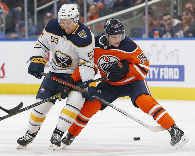 Buffalo Sabres vs. Edmonton Oilers - 1/2/20 NHL Pick, Odds & Prediction