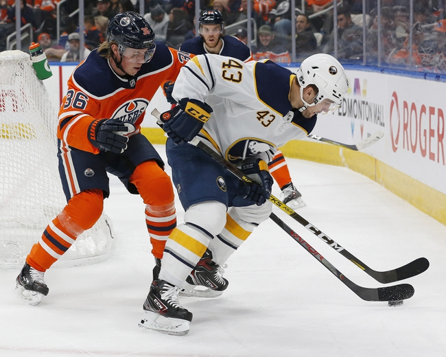 Buffalo Sabres vs. Edmonton Oilers - 1/2/20 NHL Pick, Odds, and Prediction